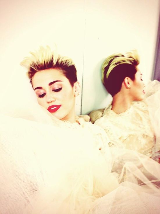 Photo courtesy of Miley Cyrus' twitter