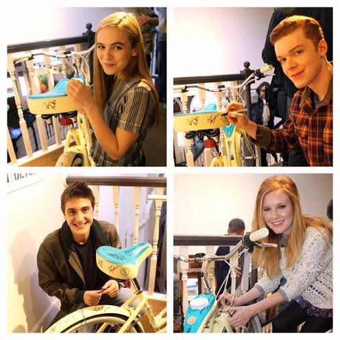 Clockwise: Morgan Saylor, Cameron Monaghan, Madison Beaty, Noah Silver