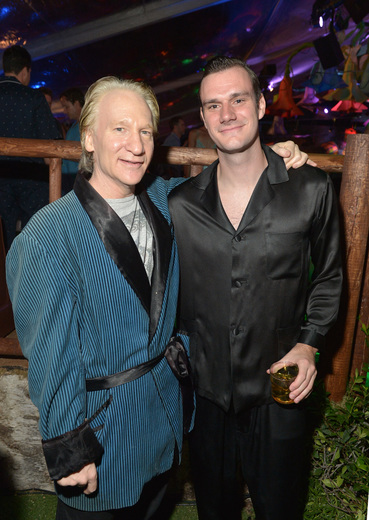 Bill Maher and Cooper Hefner,  Getty Images for Playboy