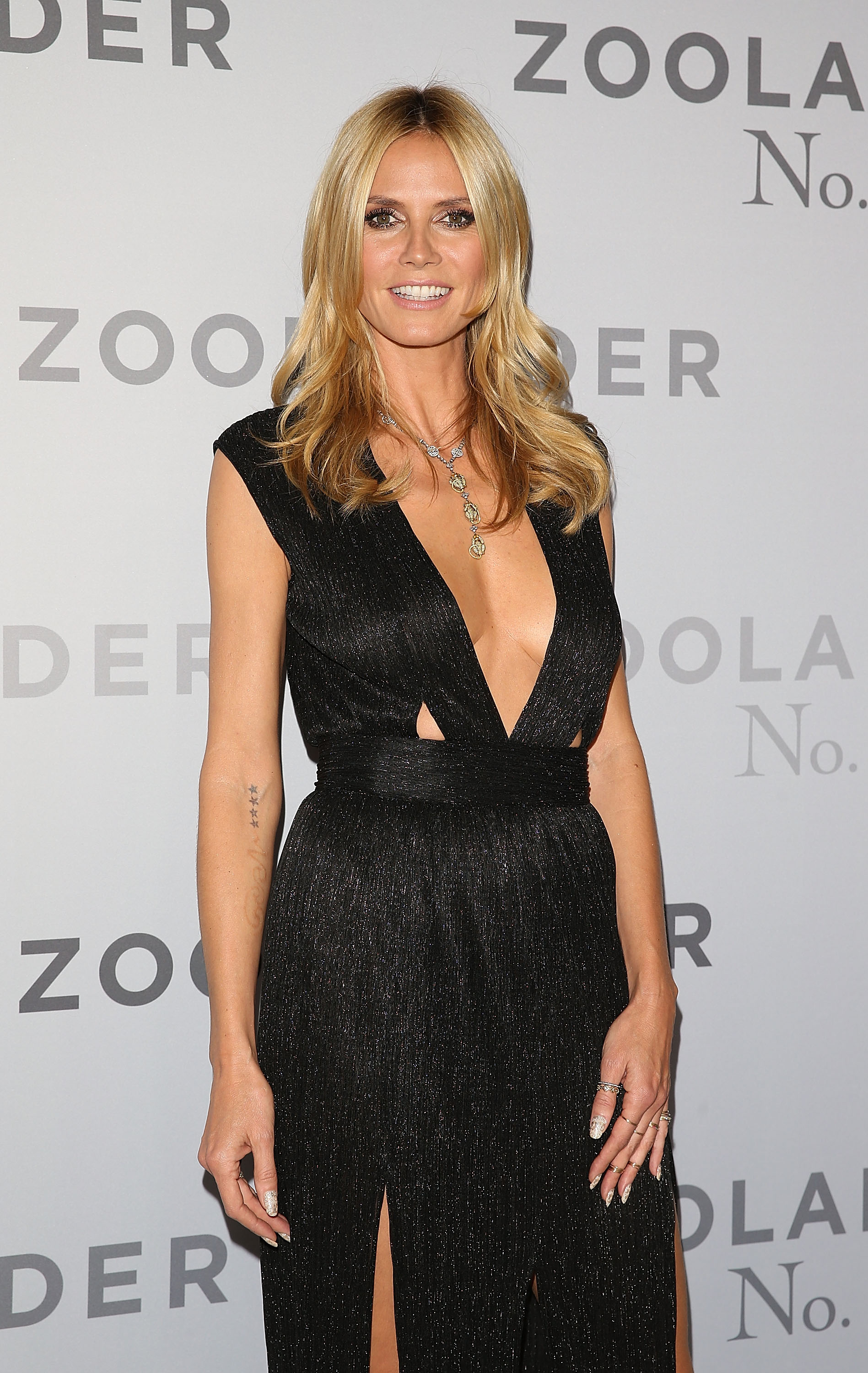 SYDNEY, AUSTRALIA - JANUARY 26: Heidi Klum attends the Sydney Fan Screening Event of the Paramount Pictures film 'Zoolander No. 2' at the State Theatre on January 26, 2016 in Sydney, Australia. (Photo by Caroline McCredie/Getty Images for Paramount Pictures) *** Local Caption *** Heidi Klum