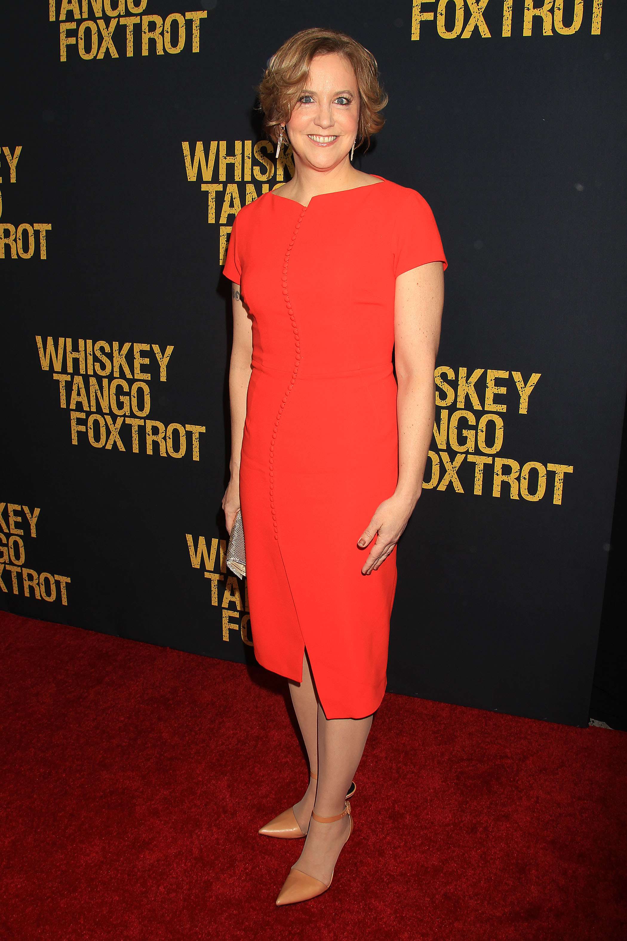"New York, NY - 3/1/16 - Kim Barker attends the Paramount Pictures World Premiere of ""WHISKEY TANGO FOXTROT"". The film stars Tina Fey, Margot Robbie, Martin Freeman, Billy Bob Thornton and Christopher Abbott. It opens in theaters March 4th, 2016. PHOTO by: Dave Allocca/Starpix"