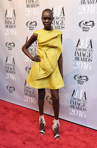 Model Mari Agory attends the American Apparel & Footwear Association's 38th Annual American Image Awards 2016 on May 24, 2016 in New York City. (Photo by Ilya S. Savenok/Getty Images for American Apparel & Footwear Association (AAFA))