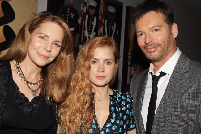 Queen Noor of Jordan;Amy Adams;Harry Connick Jr