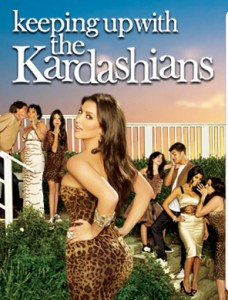 Keeping up with the Kardashians promotional poster