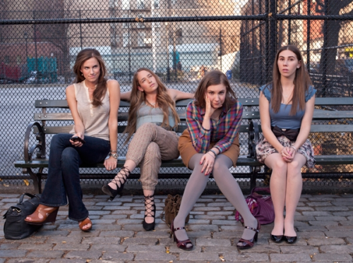 Stars of HBO's Girls