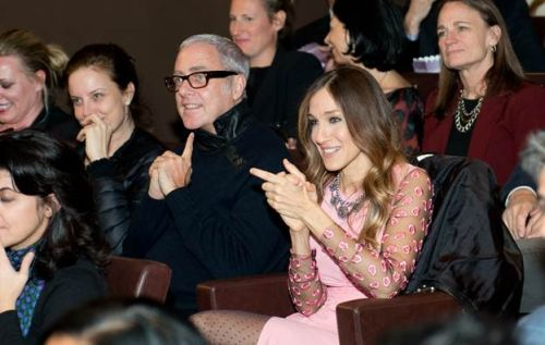 Sarah Jessica Parker, at the premiere screening of city.ballet