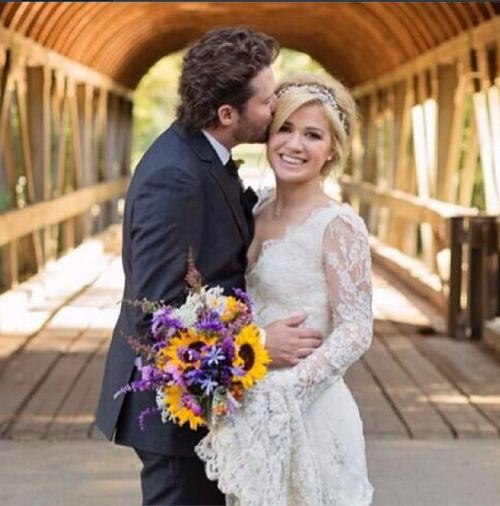 Kelly Clarkson's wedding picture. Photo Courtesy of Kelly Clarkson.