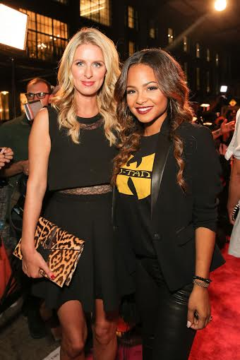 Nikki Hilton and Christina MIlian