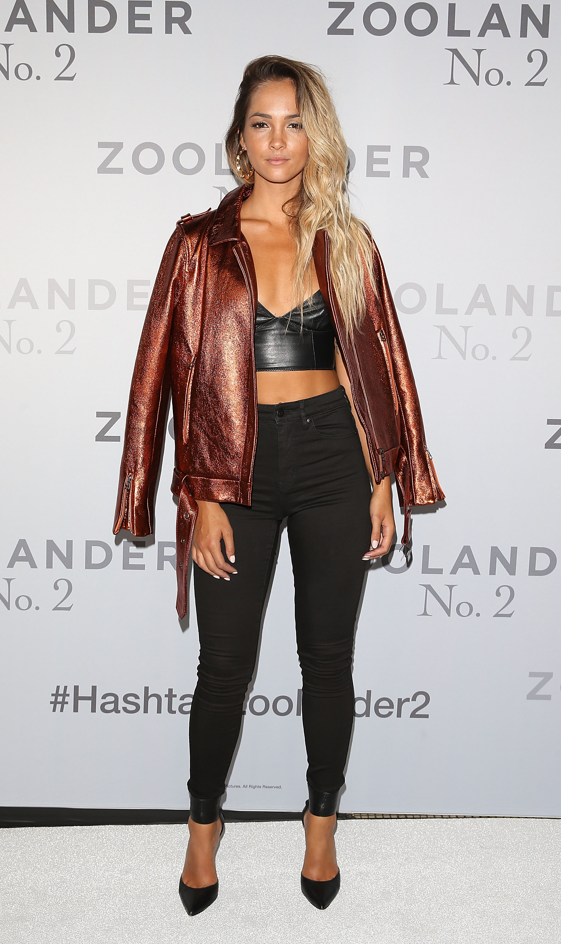 SYDNEY, AUSTRALIA - JANUARY 26: Aisha Jade attends the Sydney Fan Screening Event of the Paramount Pictures film 'Zoolander No. 2' at the State Theatre on January 26, 2016 in Sydney, Australia. (Photo by Caroline McCredie/Getty Images for Paramount Pictures) *** Local Caption *** Aisha Jade