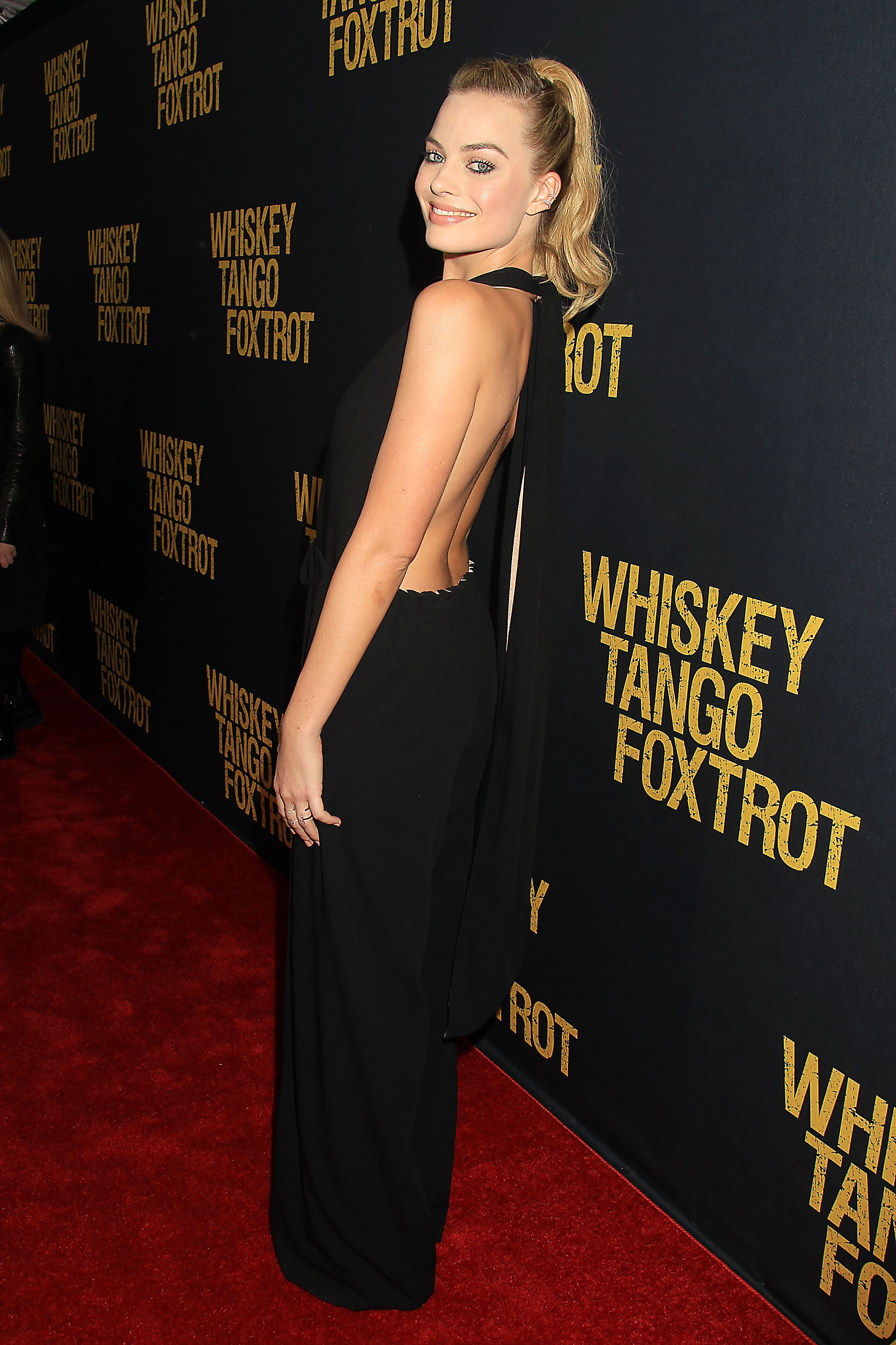 "New York, NY - 3/1/16 - Margot Robbie attends the Paramount Pictures World Premiere of ""WHISKEY TANGO FOXTROT"". The film stars Tina Fey, Margot Robbie, Martin Freeman, Billy Bob Thornton and Christopher Abbott. It opens in theaters March 4th, 2016. PHOTO by: Dave Allocca/Starpix"