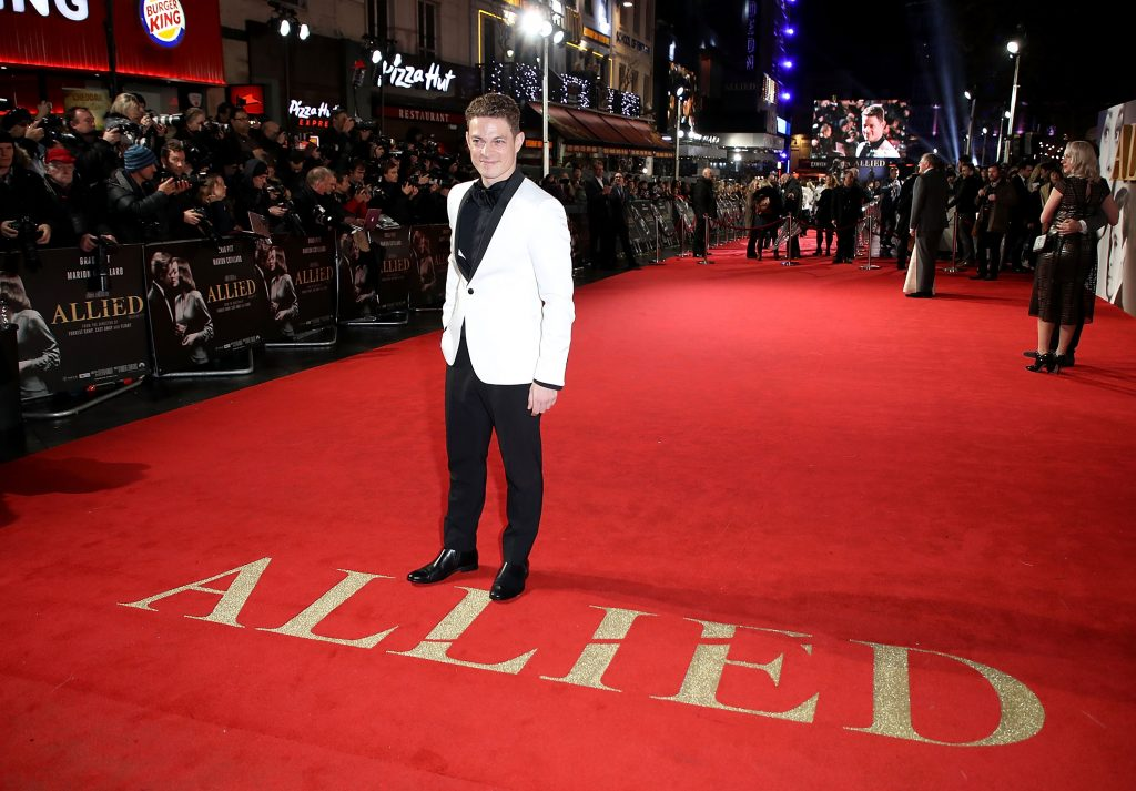 "LONDON, ENGLAND - NOVEMBER 21:  Vincent La Torre attends the UK Premiere of the Paramount Pictures Film ""Allied"" Odeon Leicester Square on November 21, 2016 in London, England.  (Photo by Mike Marsland/Mike Marsland/Getty Images for Paramount Pictures) *** Local Caption *** Vincent La Torre"