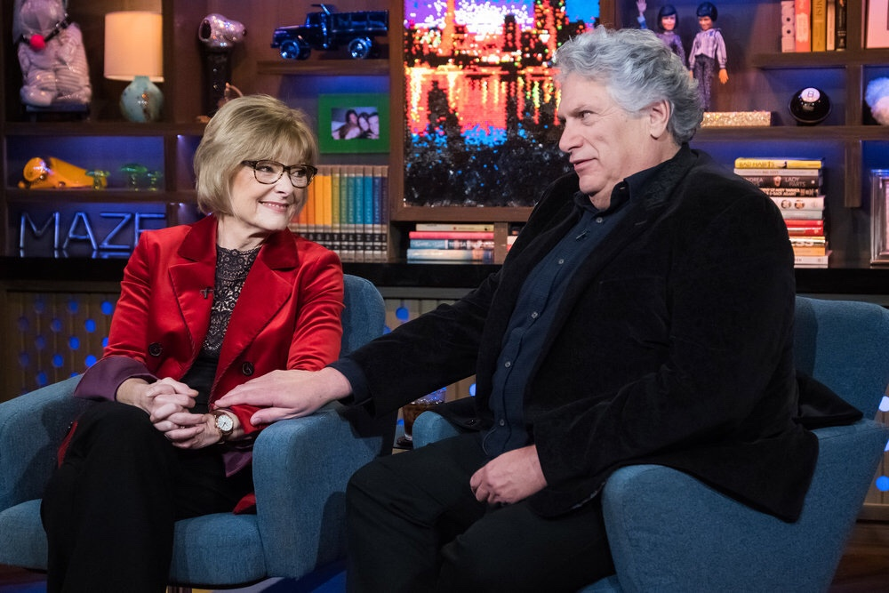Jane Curtin and Harvey Fierstein on Watch What Happens Live