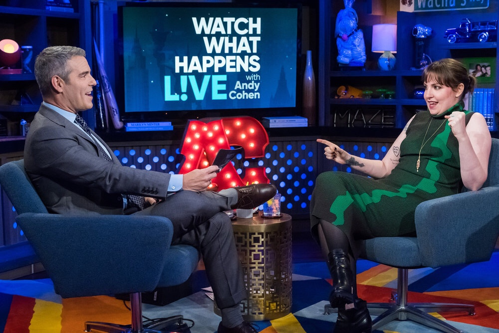 Lena Dunham on Watch What Happens Live