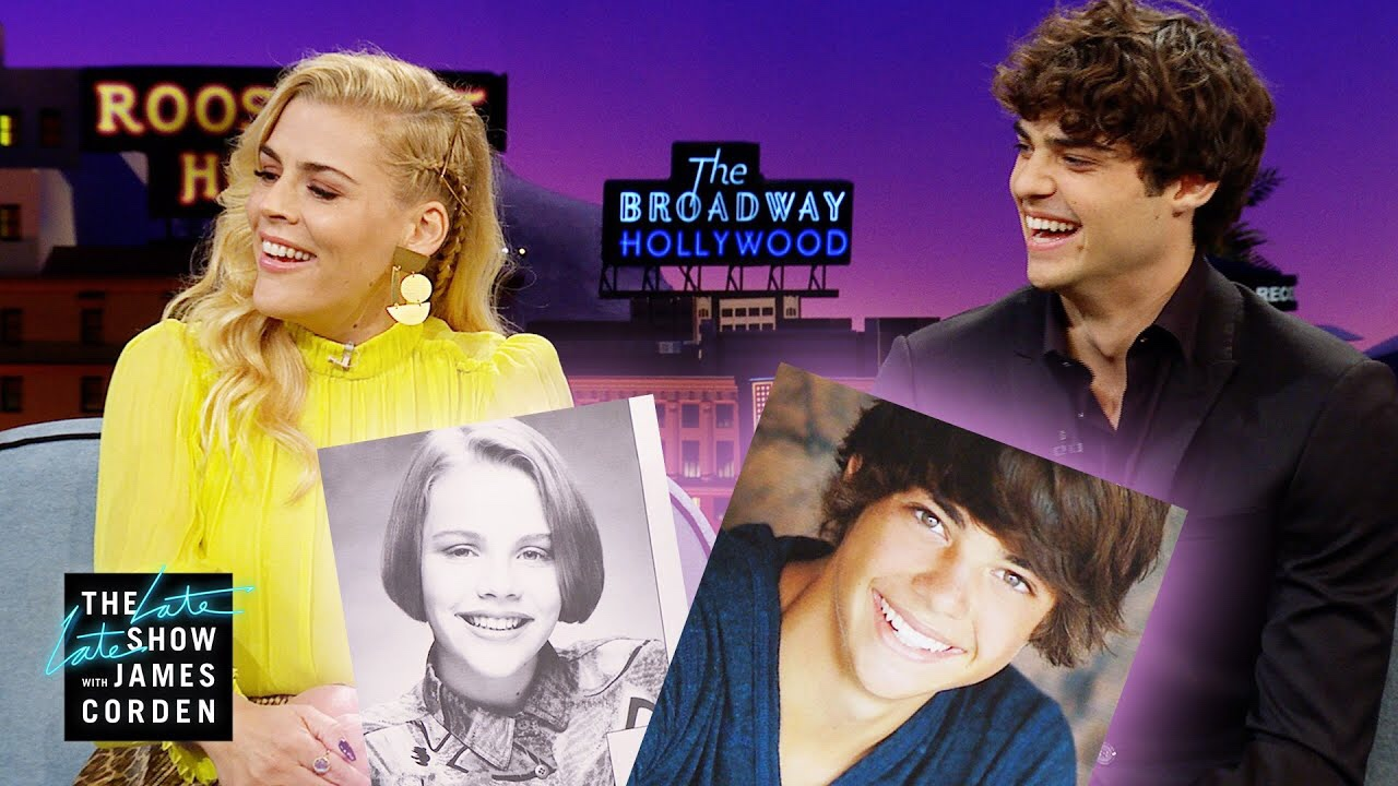 Busy Philipps and Noah Centineo on James Corden's Late Late Show