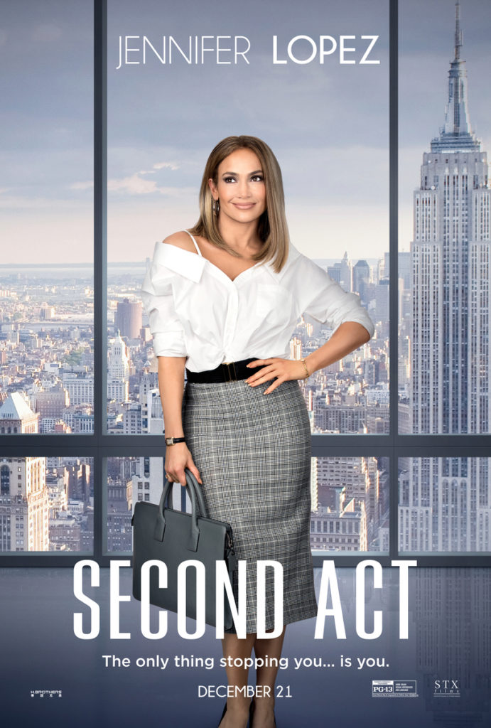 Second Act Movie Poster Jennifer Lopez