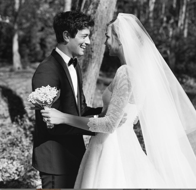 Karlie Kloss and Joshua Kushner wedding