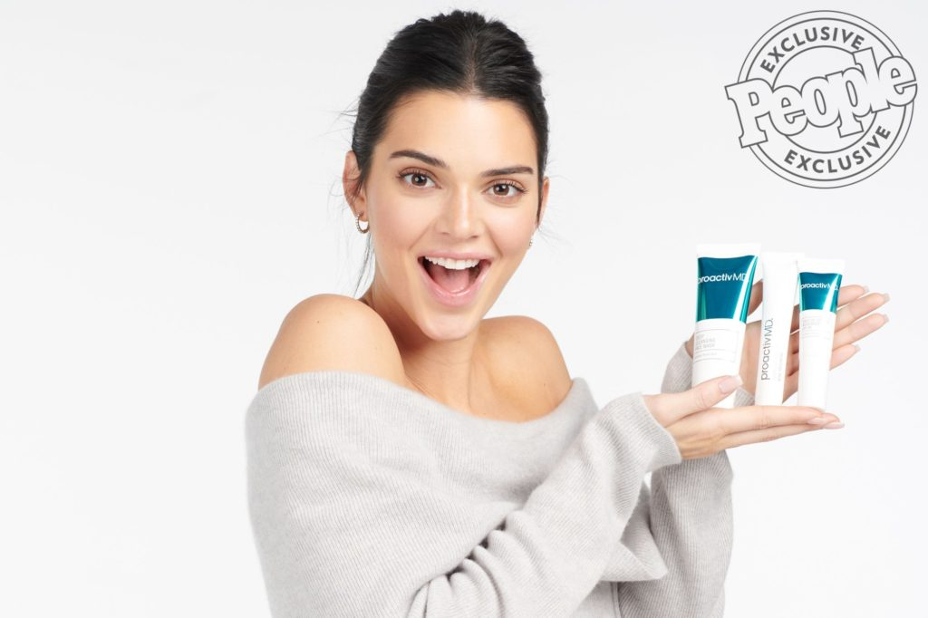 Kendall Jenner is the new face of Proactiv